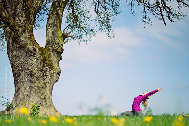 Business-Portrait Yoga