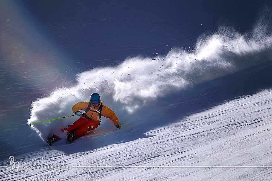 ski-gegenlicht