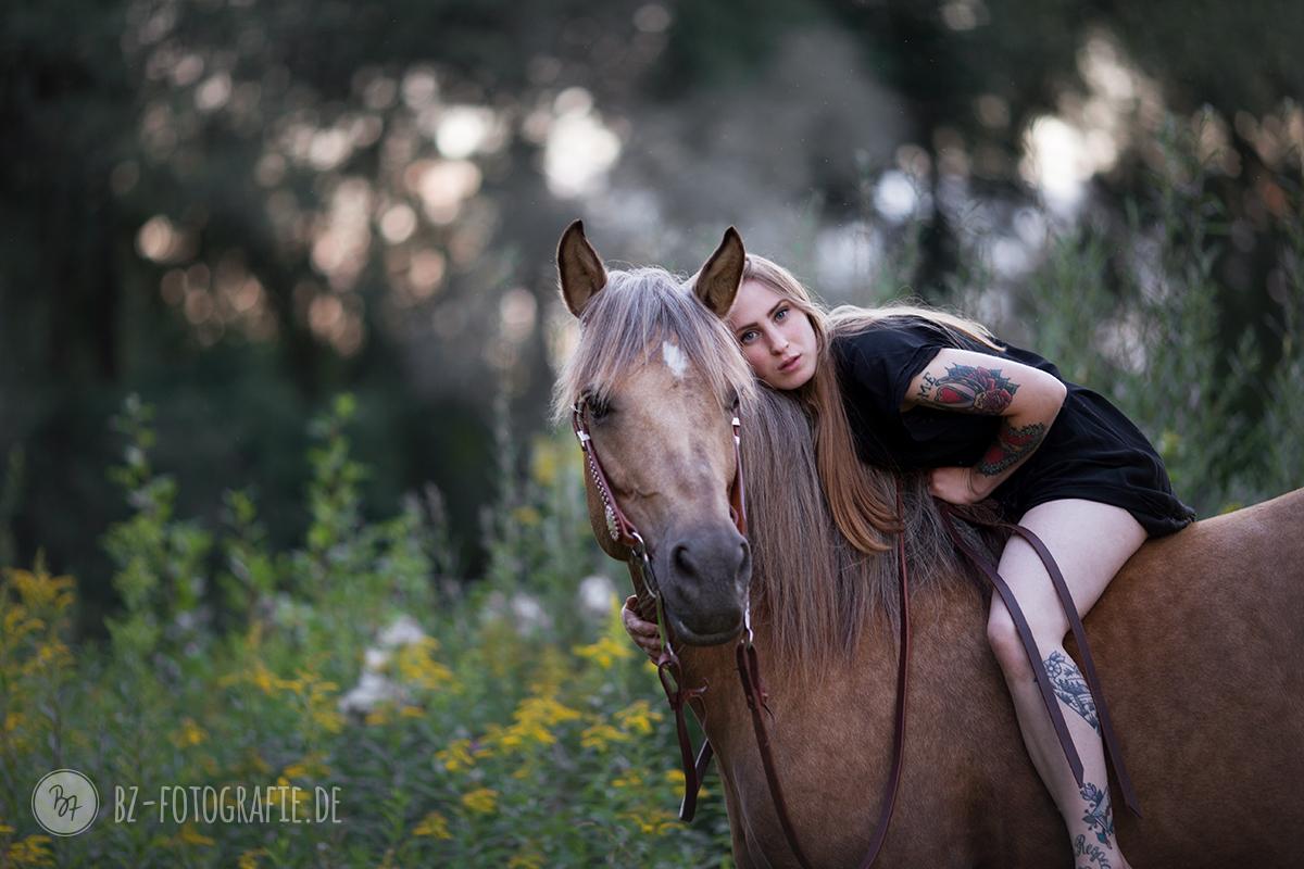 Pferdefotos bei Freising | Lena - BZ Fotografie