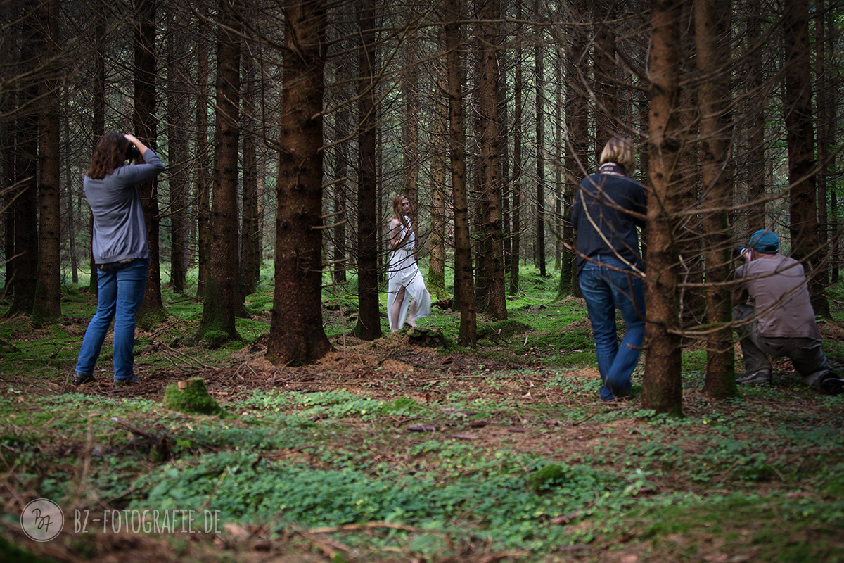 Workshop Portraitfotografie im Wald