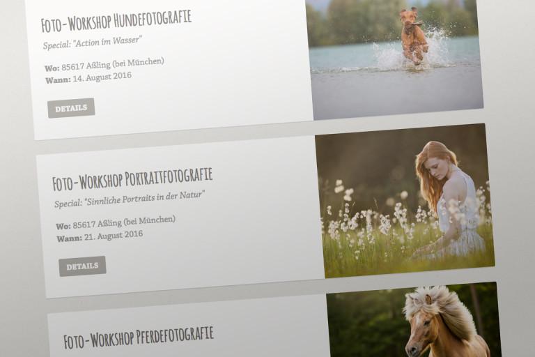 Aktuelle Foto-Workshops