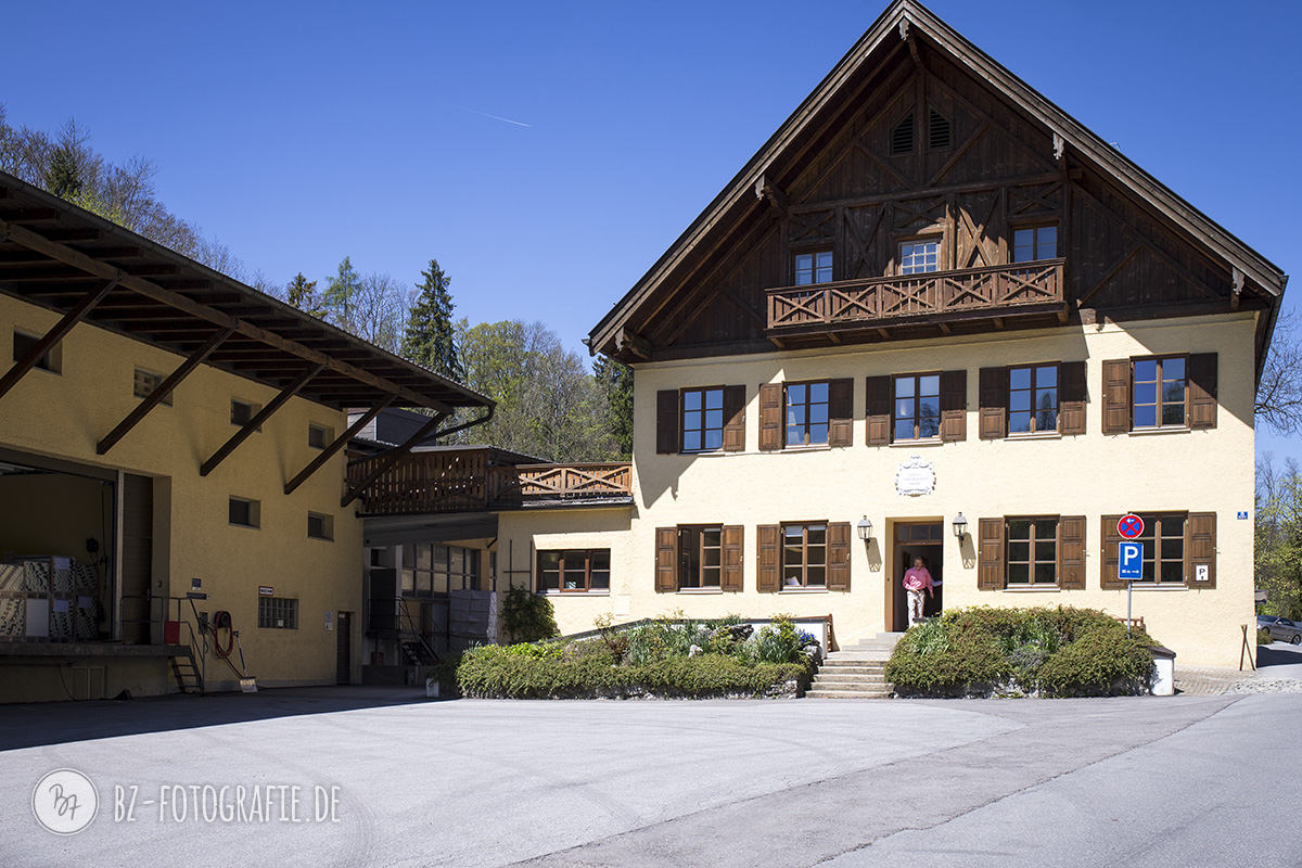 Seit 1829 am selben Standort: Das Hauptgebäude von Gmund…