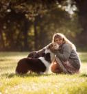 Hundefotografie bei München: Rudelportrait